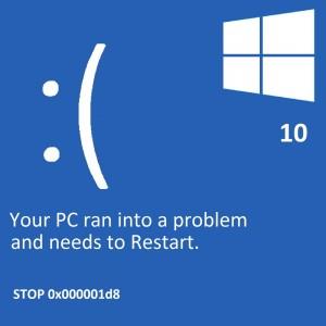 Acer mavi ekran hatası